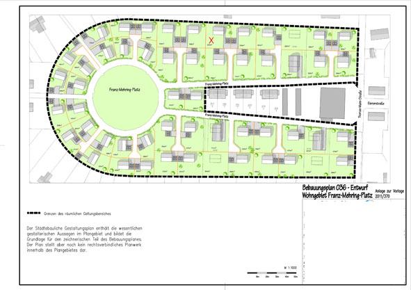 Städtebaulicher Gestaltungsplan