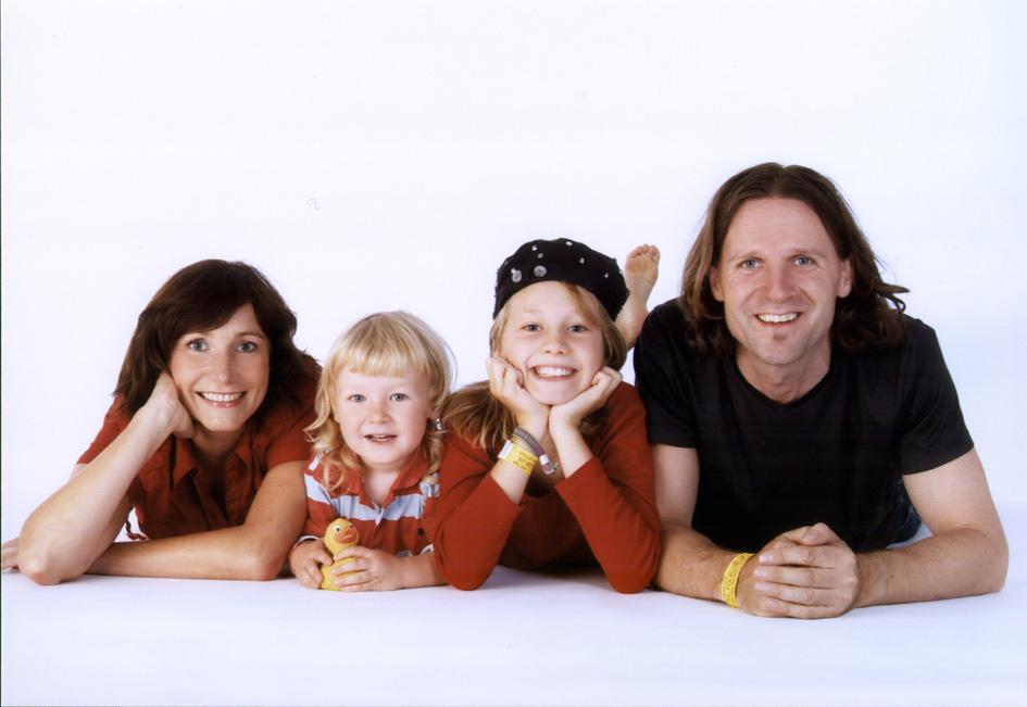Angela, Leonardo, Lilly, Timo