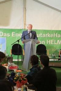 Prof. Ernst Ulrich von Weizsäcker hält die Festansprache