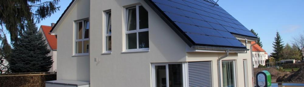 Ein energieautarkes Haus entsteht